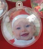 Bola de Natal Personalizadas - 40 unidades