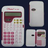 Calculadora  com relógio digital - 56 funções