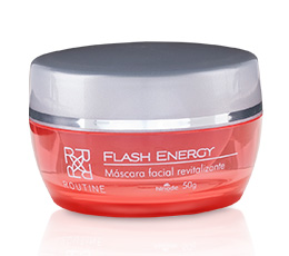 ROUTINE FLASH ENERGY MÁSCARA FACIAL REENERGIZANTE - HINODE