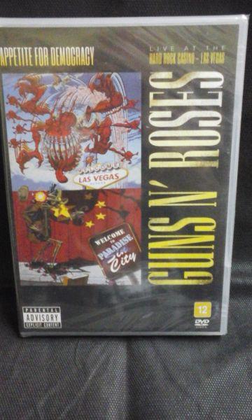 DVD - Guns N' Roses - Appetiti For Democracy