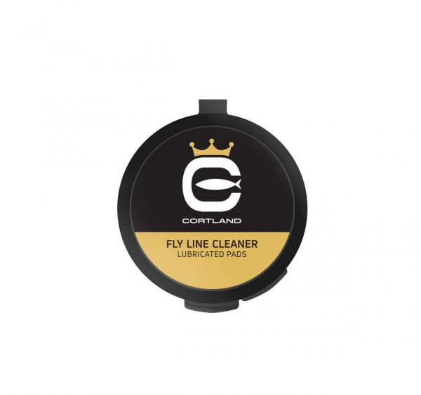 CLD - FLY LINE CLEANER LUBRICATED PADS