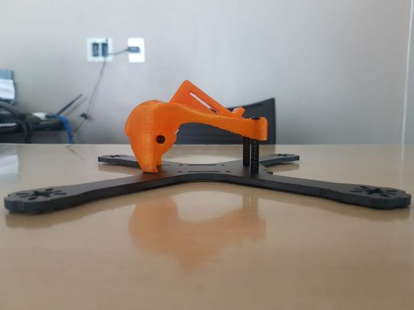 POD em TPU p/ Frame QAV-X & Realacc X210 COR: Laranja