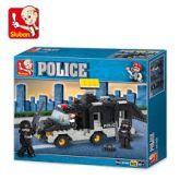 Polícia - blocos lego Sluban