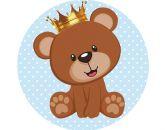Papel Arroz Príncipe Urso Redondo 008 1un
