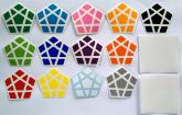 Megamix Dayan 12 cores+Preto+Película