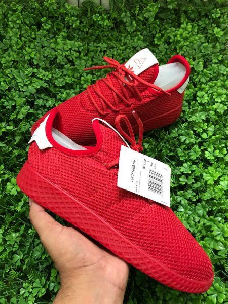 43ad51bfb3ca8 Tênis Adidas Pharrell Williams Hu Vermelho - Outlet Ser Chic