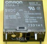 RELE G5PA-1 5VDC 5A