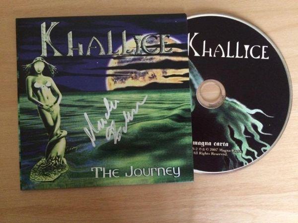 CD - Khallice - The Journey - AUTOGRAFADO - Envelope