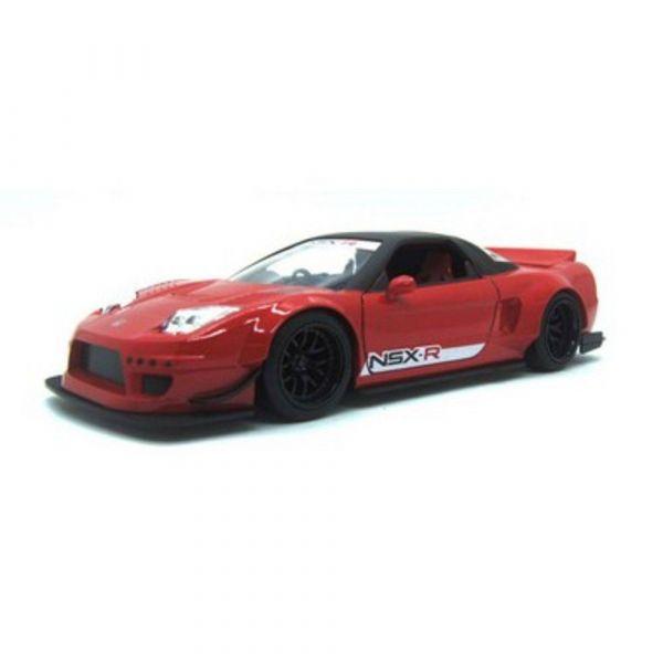 Honda NSX Type-R Japan Spec 2002 Widebody Vermelho JDM Tuners 1/24 Jada Toys