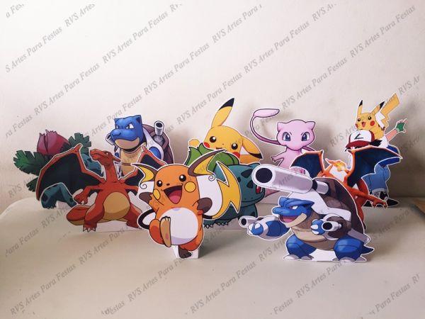 10 Displays de mesa - Pokémon