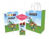 Kit Colorir Minecraft
