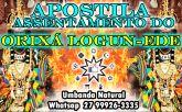 APOSTILA ASSENTAMENTO ORIXÁ LOGUN-EDE
