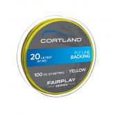CLD - BACKING 20 Lb - 250 Yd (Yellow)