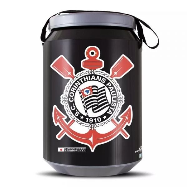 Cooler Cerveja Corinthians Térmico 24 Latas - Pro Tork