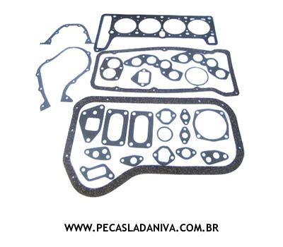 Jogo de Juntas de Motor Laika 1.6 s/ Retentores (Novo) Ref.0203