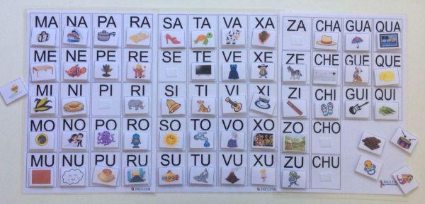 Alfabetização Conjunto Sílabas