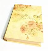 Livro Caixa - Pequenos Livros - Flores 17 cm
