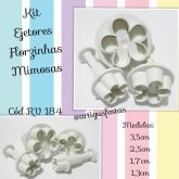 Kit Ejetores Florzinhas Mimosas- RV 184
