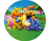 Papel Arroz Pooh Redondo 005 1un