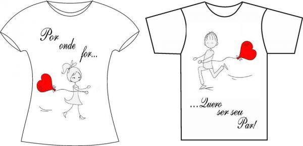 3968db83e1e3e Camisa personalizada dia namorados - Loja de annemodaslojavirtual