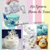 Kit Ejetores Flocos de Neve