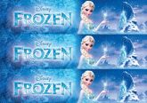 Papel Arroz Frozen Faixa Lateral A4 011 1un