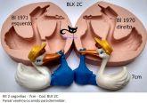 Kit duas cegonhas  direito e esquerdo  BLk 2C
