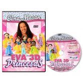 DVD - Edna Massan - EVA 3D - PRINCESAS