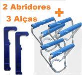 Kit 3 Alça + 2 Abridores de Galão de Agua