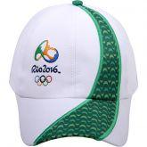 Boné Olimpíadas Rio 2016 adulto - branco e verde