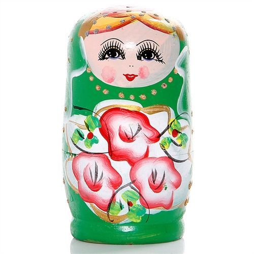 kit com 5 Bonecas Matrioshka