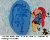 Super Herói Thor Avengeres Vingadores com 9x6cm
