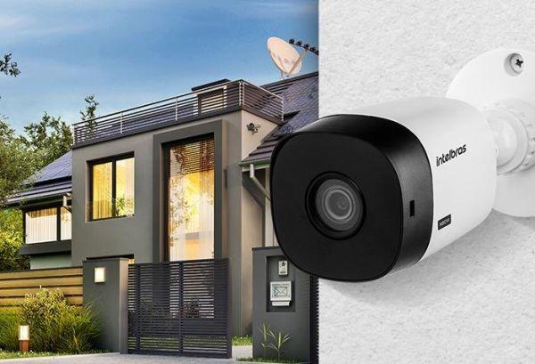 Câmera Intelbras VHL 1120B, HD 720p HDCVI, Bullet, Infra 20m, Branca, Resistente a Chuva
