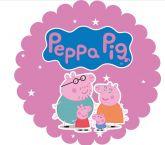Papel Arroz Peppa Pig Redondo 007 1un