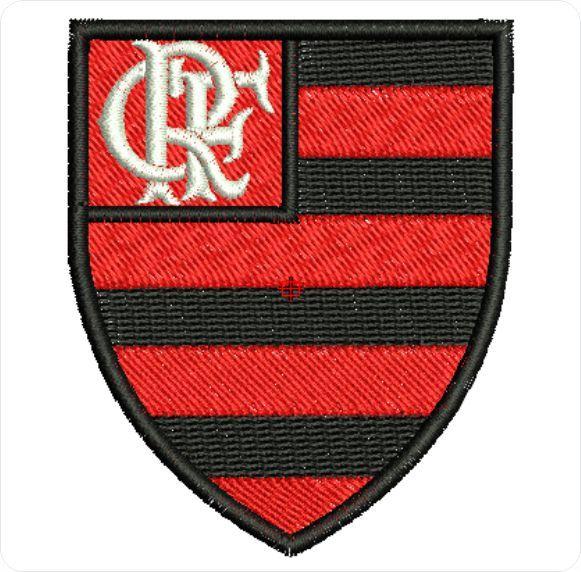 Flamengo matriz para bordar