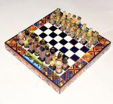 Jogo Xadrez Espanhóis X Incas Médio