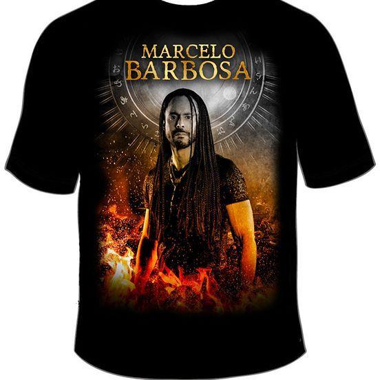 Camiseta Preta Marcelo Barbosa