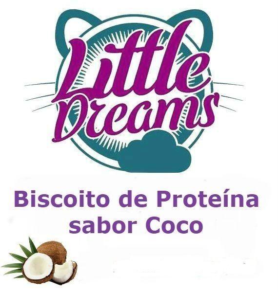 Biscoito de Proteína Sabor Coco