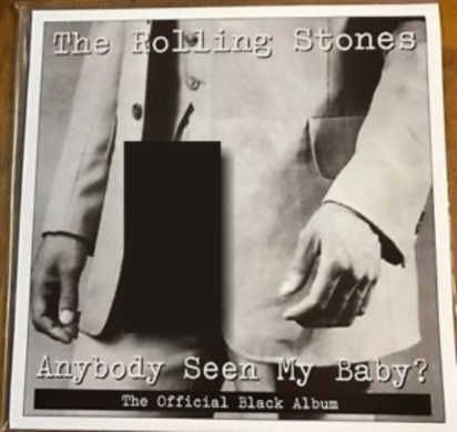 LP 12 - Rolling Stones Anybody Seen My baby (The Official Rolling Stones Black album)