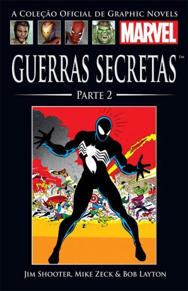 510902 - A Coleção Oficial de Graphic Novels Marvel 07 Guerras Secretas Parte 2