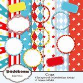 Kit Digital Scrapbook Circus