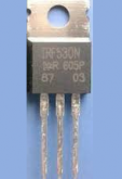 IRF9530N Transistor MOSFET Canal P 100V / 14A (5 peças)
