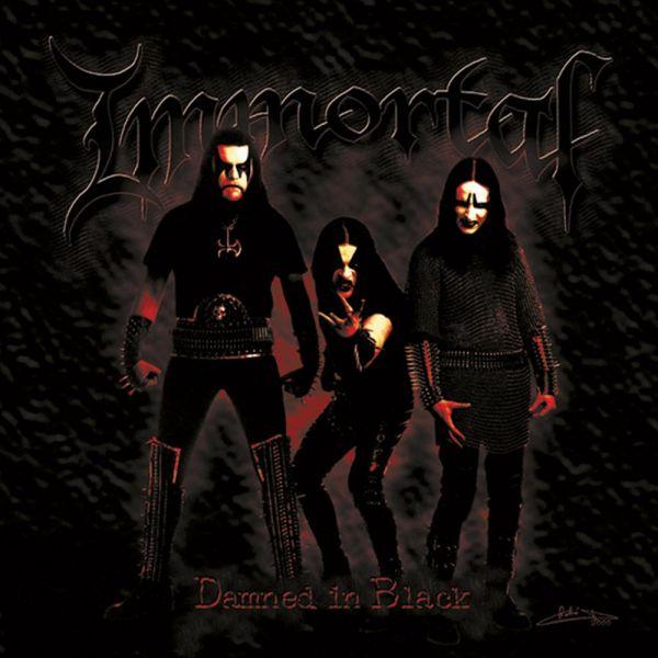 IMMORTAL - Damned In Black - Slipcase CD