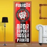 Adesivo para Porta - Time Atlético Paranaense