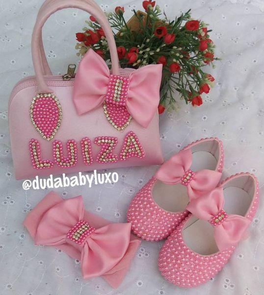 de8a6b12f593e8 Kit mini diva baby - Duda Baby Luxo
