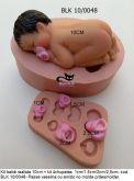 bebezão 10cm + kit 4 chupetas