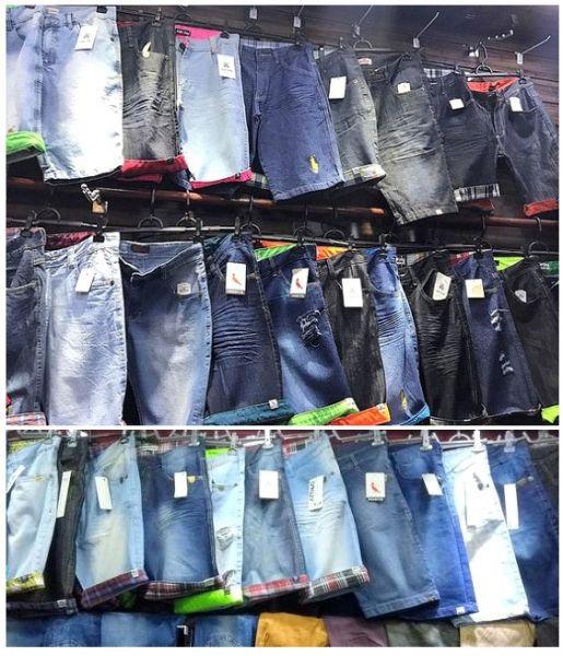 9d4db53832ad9c 10 Peças - Bermudas Jeans Masculinas ** 34 ao 48 - Atacadão das ...