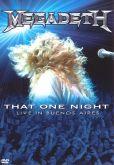 """Megadeth - """"That One Night: Live in Buenos Aires"""" DVD Nacional, Não contém Encarte!!!!!"""