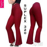 calça flare ou reta(P-M-G)vermelha, suplex gramatura média 320