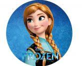 Papel Arroz Frozen Redondo 006 1un